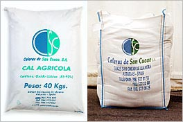 Caleras de san cucao s a commercialization of products - Chaux vive agricole ...